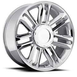 Factory Reproductions Wheels FR 39 Cadillac Escalade Plat - Chrome Rim