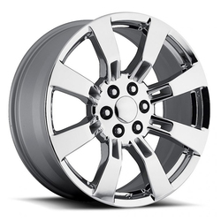 Factory Reproductions Wheels FR 40 Escalade - Chrome Rim - 26x10