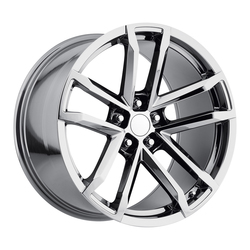Factory Reproductions Wheels FR 41 Camaro ZL1 - Black Chrome Rim