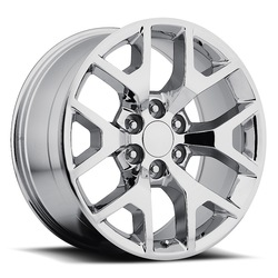 Factory Reproductions Wheels FR 44 GMC Sierra - Chrome Rim