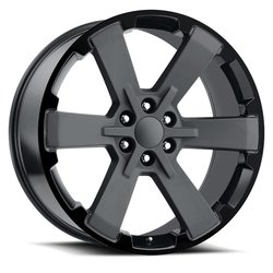 Factory Reproductions Wheels FR 45 GMC Dual SixStar - 2Tone - 24x10