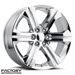 Factory Reproductions Wheels FR 47 2018 Sierra - Chrome Rim