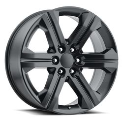 Factory Reproductions Wheels FR 47 2018 Sierra - Satin Black Rim
