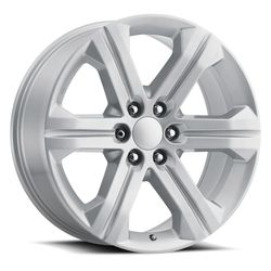 Factory Reproductions Wheels FR 47 2018 Sierra - Silver Rim