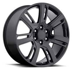 Factory Reproductions Wheels FR 48 Cadillac Escalade - Gloss Black Rim