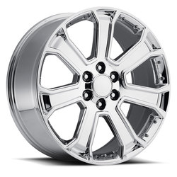 Factory Reproductions Wheels FR 49-GMC Yukon Denali - Chrome Rim
