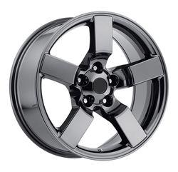 Factory Reproductions Wheels FR 50 Ford Lightning - Black Chrome
