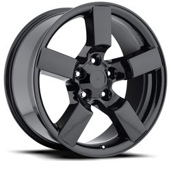 Factory Reproductions Wheels FR 50 Ford Lightning - Gloss Black Rim