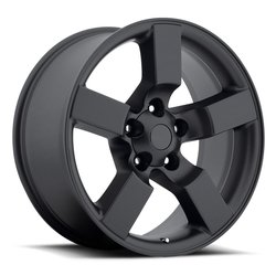 Factory Reproductions Wheels FR 50 Ford Lightning - Satin Black Rim