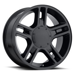 Factory Reproductions Wheels FR 51 Ford Harley - Gloss Black Rim - 22x9.5