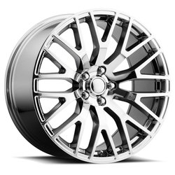 Factory Reproductions Wheels FR 54 Mustang - PVD Blk Chrome Rim