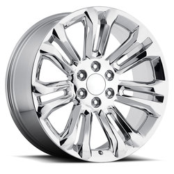 Factory Reproductions Wheels FR 55 GMC - Chrome Rim - 26x10