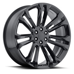 Factory Reproductions Wheels FR 55 GMC - Gloss Black Rim - 26x10