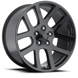 Factory Reproductions Wheels FR 60 Ram SRT10 - Gloss Black Rim - 22x10