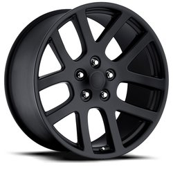 Factory Reproductions Wheels FR 60 Ram SRT10 - Satin Black - 24x10