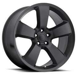 Factory Reproductions Wheels FR 61 Charger - Satin Black Rim