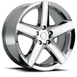 Factory Reproductions Wheels FR 63 Jeep - Chrome Rim - 22x10