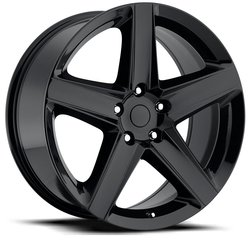 Factory Reproductions Wheels FR 63 Jp SRT8 - Gloss Black Rim