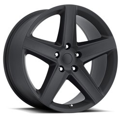 Factory Reproductions Wheels FR 63 SRT8 - Satin Blk Rim - 20x9