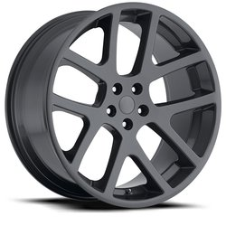 Factory Reproductions Wheels FR 64 Jeep Viper - Comp Grey - 24x9