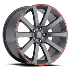 Factory Reproductions Wheels FR 65 Chrysler 300c - Comp Grey Rim