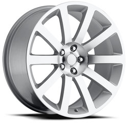 Factory Reproductions Wheels FR 65 Chrysler 300c - Silver Machine Face Rim