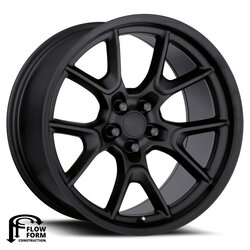 Factory Reproductions Wheels FR 66F Dodge Anniversary - Gloss Black Rim