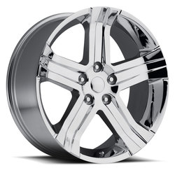 Factory Reproductions Wheels FR 69 Ram RT - Chrome Rim