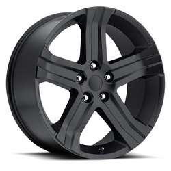 Factory Reproductions Wheels FR 69 Ram RT - Satin Black Rim