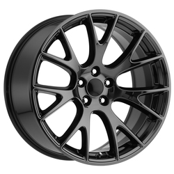 Factory Reproductions Wheels FR 70 Hellcat - PVD Black Chrome Rim