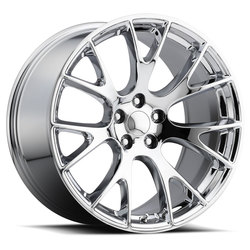 Factory Reproductions Wheels FR 70 Hellcat - Chrome Rim - 22x10
