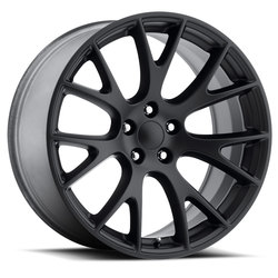 Factory Reproductions Wheels FR 70 Hellcat - Satin Black - 20x9.5