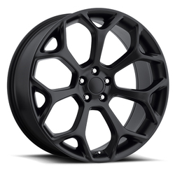 Factory Reproductions Wheels FR 71 Chrysler 300 - Satin Black Rim