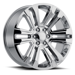 Factory Reproductions Wheels FR 72 Escalade - Chrome Rim - 26x10
