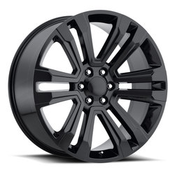 Factory Reproductions Wheels FR 72 Escalade - Gloss Black Rim - 26x10