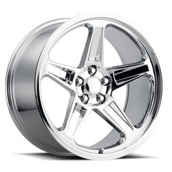 Factory Reproductions Wheels FR 73 Dodge Demon - Chrome Rim