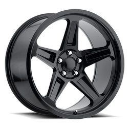 Factory Reproductions Wheels FR 73 Dodge Demon - Gloss Black Rim