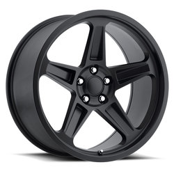Factory Reproductions Wheels FR 73 Dodge Demon - Satin Black Rim