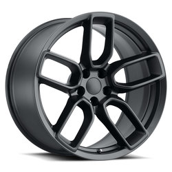 Factory Reproductions Wheels FR 74 Dodge Widebody - Satin Black Rim