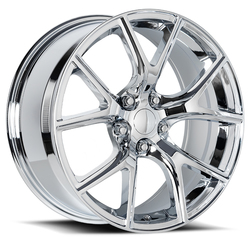 Factory Reproductions Wheels FR 75 Jeep Trackhawk - Chrome Rim