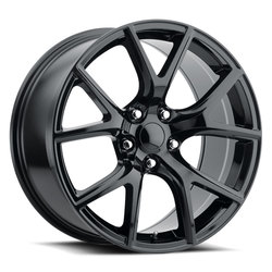 Factory Reproductions Wheels FR 75 Jeep Trackhawk - Gloss Black Rim