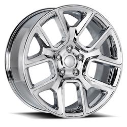 Factory Reproductions Wheels FR 76 Ram 1500 - Chrome Rim - 24x10
