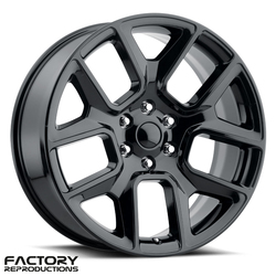 Factory Reproductions Wheels FR 76 19 Ram 1500 - Gloss Black