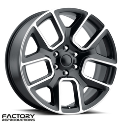 Factory Reproductions Wheels FR 76 19 Ram 1500 - Satin Black w/Machined Face