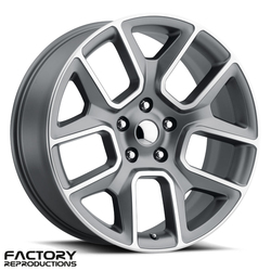 Factory Reproductions Wheels FR 76 19 Ram 1500 - Satin Grey w/Machined Face