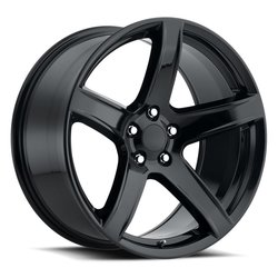 Factory Reproductions Wheels FR77 Hellcat HC2 - Gloss Black - 20x11