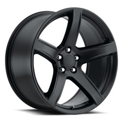 Factory Reproductions Wheels FR77 Hellcat HC2 - Satin Black - 20x11