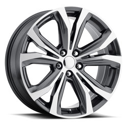 Factory Reproductions Wheels FR 79 Lexus RX - Grey Machine Face