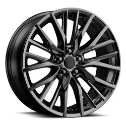 Factory Reproductions Wheels FR 80 Lexus RX FSport - PVD Black Chrome - 20x8