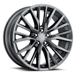 Factory Reproductions Wheels FR 80 Lexus RX FSport - Hyper Black Silver - 20x8